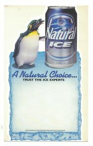 Vintage-Natural-Ice-Beer-Sticker-A-Natural-Choice-Anheuser-Busch-8-3-4-034