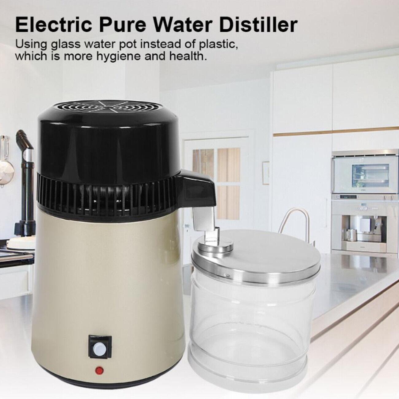 Wasserdestiliergerät Wasser Destilliergerät 4L Destillier Gerät Water Distiller