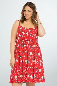 a0bb4cd1c84 NWT Torrid Plus Size 1 1X XL 14/16 Floral Tiered Challis Sundress ...