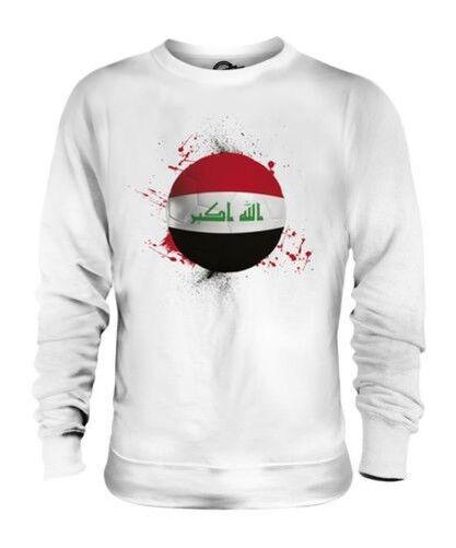 IRAQ FOOTBALL UNISEX SWEATER TOP GIFT WORLD CUP SPORT