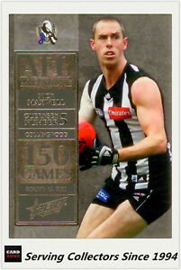 2012-Select-AFL-Champions-Milestone-Card-MG12-Nick-Maxwell-Collingwood