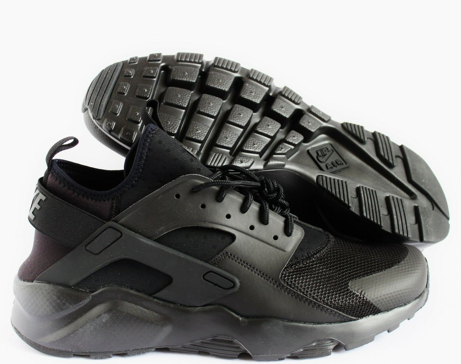 NIKE MEN AIR HUARACHE RUN ULTRA schwarz schwarz SZ 11.5