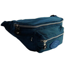 Bauchtasche Gürteltasche Hüfttasche BAG STREET Bauchgurt Angeltasche Blau Navy Sporttaschen & Rucksäcke