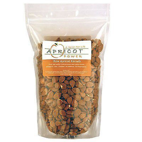 Bitter Raw Apricot Kernels Seeds - California Grown Resealable Bags - 2LBS