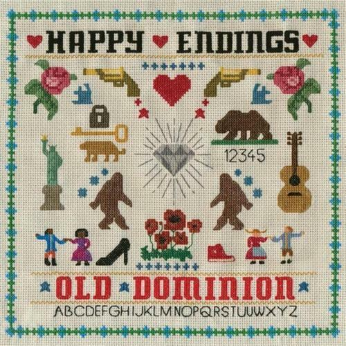 OLD DOMINION Happy Endings CD BRAND NEW