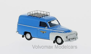 "1962-1//87 NORWAY wonderful  HO-modelcar VOLVO P210 DUETT PANELVAN /""NSB/"""