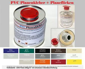pvc planenreparatur set planen kleber flicken plane. Black Bedroom Furniture Sets. Home Design Ideas