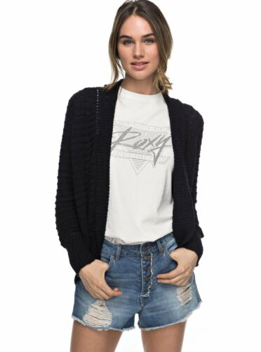 Roxy Womens Lets Go Anywhere Cardigan Anthracite Black