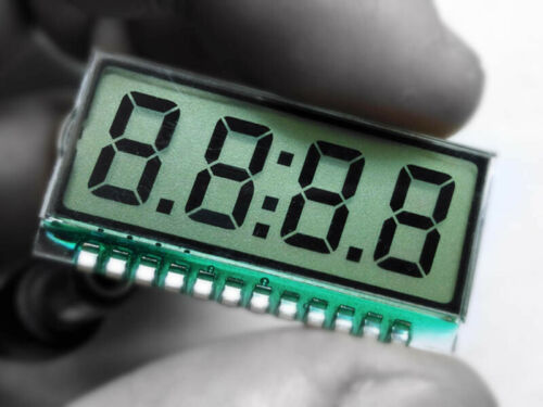 Segment 5pcs code Screen Display LCM LCD 4 Bit 8 code de zone écran MCU IO conducteur