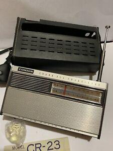 VINTAGE WORLD RADIO CONION. 2-BANDS  MW(-AM)-SW 1950s-1970s+CASE VERY RARE