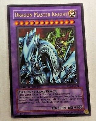 YUGIOH DRAGON MASTER KNIGHT UE02-EN001 LTD ED ULTRA RARE HOLO NM//MINT SEALED
