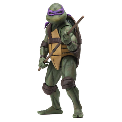 Teenage Mutant Ninja Turtles 1990 MOVIE DONATELLO ESCLUSIVA ACTION FIGURE NECA
