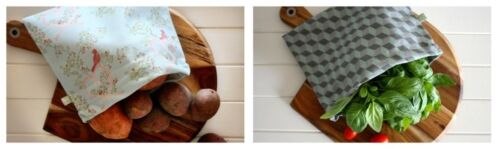 4 My Earth Food Bag. Reusable Eco friendly storage bag for bread muffins or cake