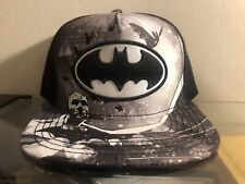 """Brand New"" Official Licensed DC Comics Batman Snapback Hat Cap."
