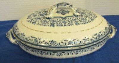 Antique Minton China Moustiers Covered