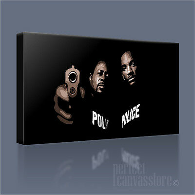 Bad Boys Action Film Smith And Lawrence Large Photo Poster Canvas Pictures