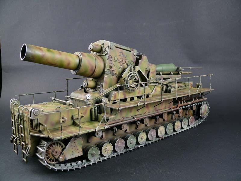 German MORSER KARL-GERAT 040 04 - Built 1 35