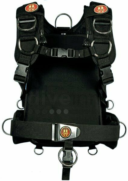 OMS Modular IQ Harness Pack System for Scuba Diving - Backpack ONLY M L MD LG