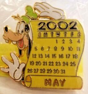 Disney Store 12 Months Of Magic Calendar Series May 2002 Goofy Ebay