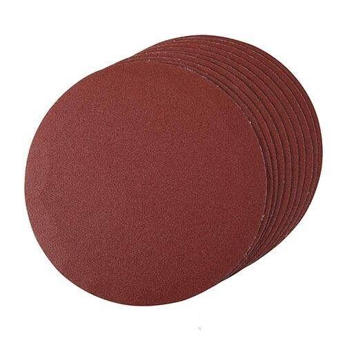 Disque abrasif 125 mm, grain 120, le lot de 10