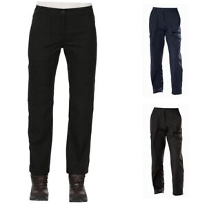 REGATTA-LADIES-ACTION-TROUSERS-Water-Repellent-Knee-Patches-Black-or-Navy