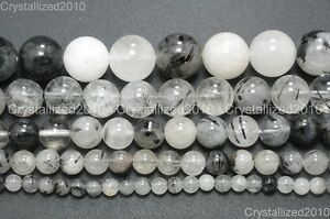 Natural-Rutilated-Quartz-Gemstone-Round-Beads-6mm-8mm-10mm-12mm-14mm-16mm-16-039-039