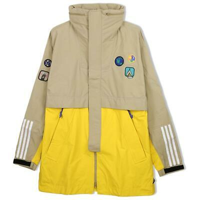 Adidas Pharrell Williams Hu H 3L Hiking 3 Layer Jacket Beige