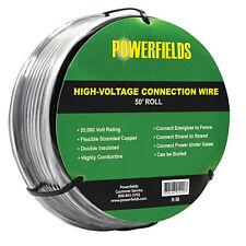 "EA R-12-W Wide Tape Gate Hndl White EACH Powerfields 1-1//2/"" wide poly tape g"
