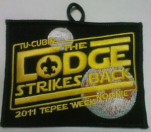 STAR-WARS-034-THE-LODGE-STRIKES-BACK-034-TU-CUBIN-NOONIE-508-OA-BSA-SCOUT-PATCH-RARE