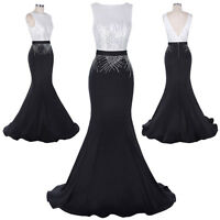 Long Formal Dress Cocktail Wedding Evening Ball Gown Party Prom Bridesmaid Dress