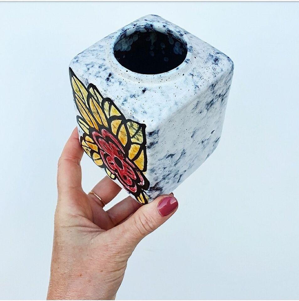 Keramik, Vase, Strehla