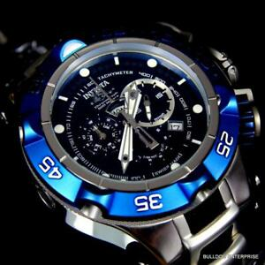 9ab414db7150 Details about Men s Invicta Subaqua Noma V Swiss Made 50mm Chronograph Blue  Black Watch New