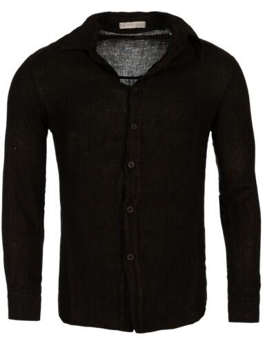 H1650 T3152 Leinen Herren Young Langarm hemd Rich hemd Freizeit amp; qtwIz7