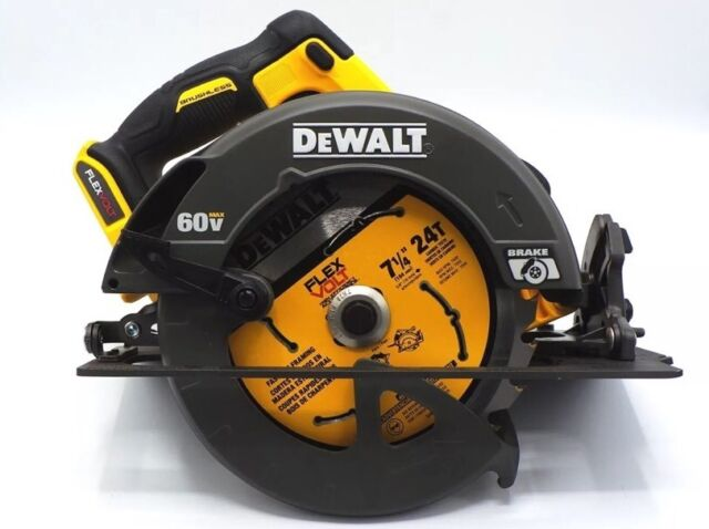 Dewalt dcs575b flexvolt 60v max 7 14 circular saw with brake tool new dewalt dcs575b 7 14 circular saw flexvolt 60v max brushless greentooth Choice Image