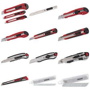 Cuttermesser 9mm Teppichmesser Abbrechklingenmesser 10 Stück Paketmesser