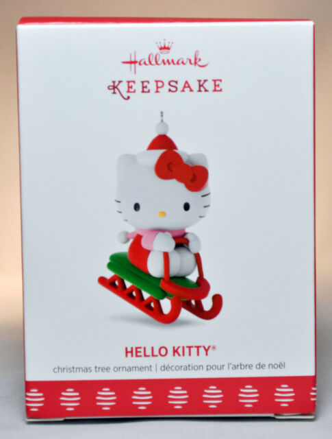 Hallmark Keepsake 2017 Hello Kitty Christmas Ornament Qxi3615