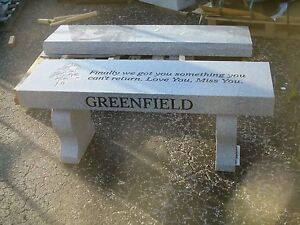 Wondrous Details About Memorial Bench Engraving Available Free Shipping 100 Granite Ibusinesslaw Wood Chair Design Ideas Ibusinesslaworg