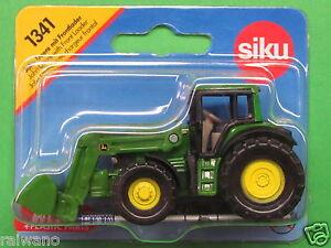 Siku-Super-Serie-1341-John-Deere-mit-Frontlader