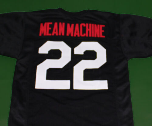 MEAN MACHINE #22 LONGEST YARD 1974 MOVIE JERSEY PAUL CREWE SEWN ANY SIZE