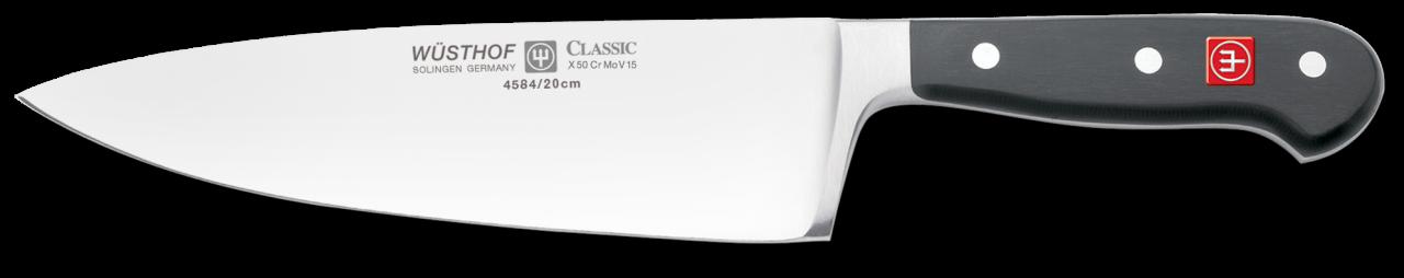 Wusthof Classic 8 inch Wide Chefs Knife, Heavy - 4584 20 - NIB