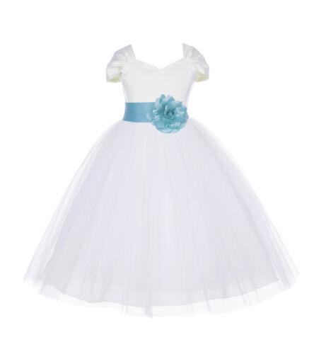 Flower Girl Dress Birthday Wedding Pageant Graduation Bridesmaid Baby Dresses
