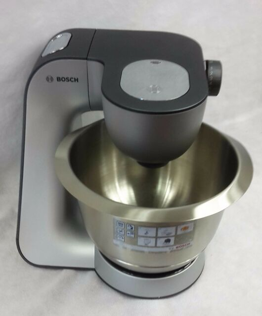Bosch Mum56340 Styline 900w Kuchenmaschine Silber Ebay