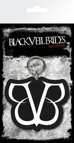 Gummi Schlüsselanhänger Keyring BVB 4,5x6 cm Black Veil Brides ca