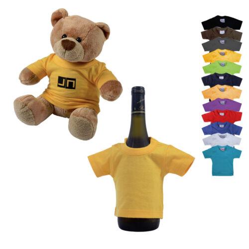 James & Nicholson Mini T-Shirt Mini-T 14 cm x 17 cm viele Farben Neuware