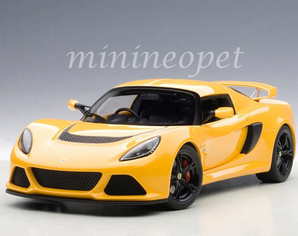 AUTOART 75382 LOTUS EXIGE S 1 18 Diecast voiture modèle jaune