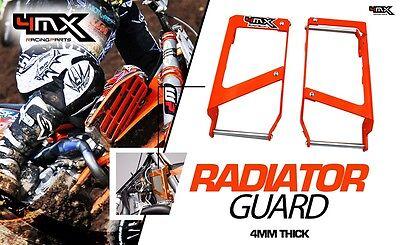 KTM EXC SX 2st 4st 125 250 300 350 400 450 500 520 530 RADIATOR GUARDS