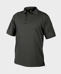 Belle Helikon Tex Urban Line Utl Outdoor Loisirs Polo Shirt Top Cool Black S/small-afficher Le Titre D'origine