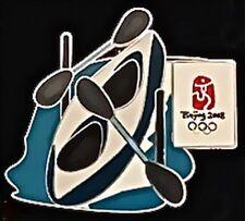Kayak Olympic Pin Badge~2008~Beijing~Games Mark~Equipment Series