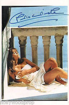 Cardinale nude claudia Claudia Cardinale
