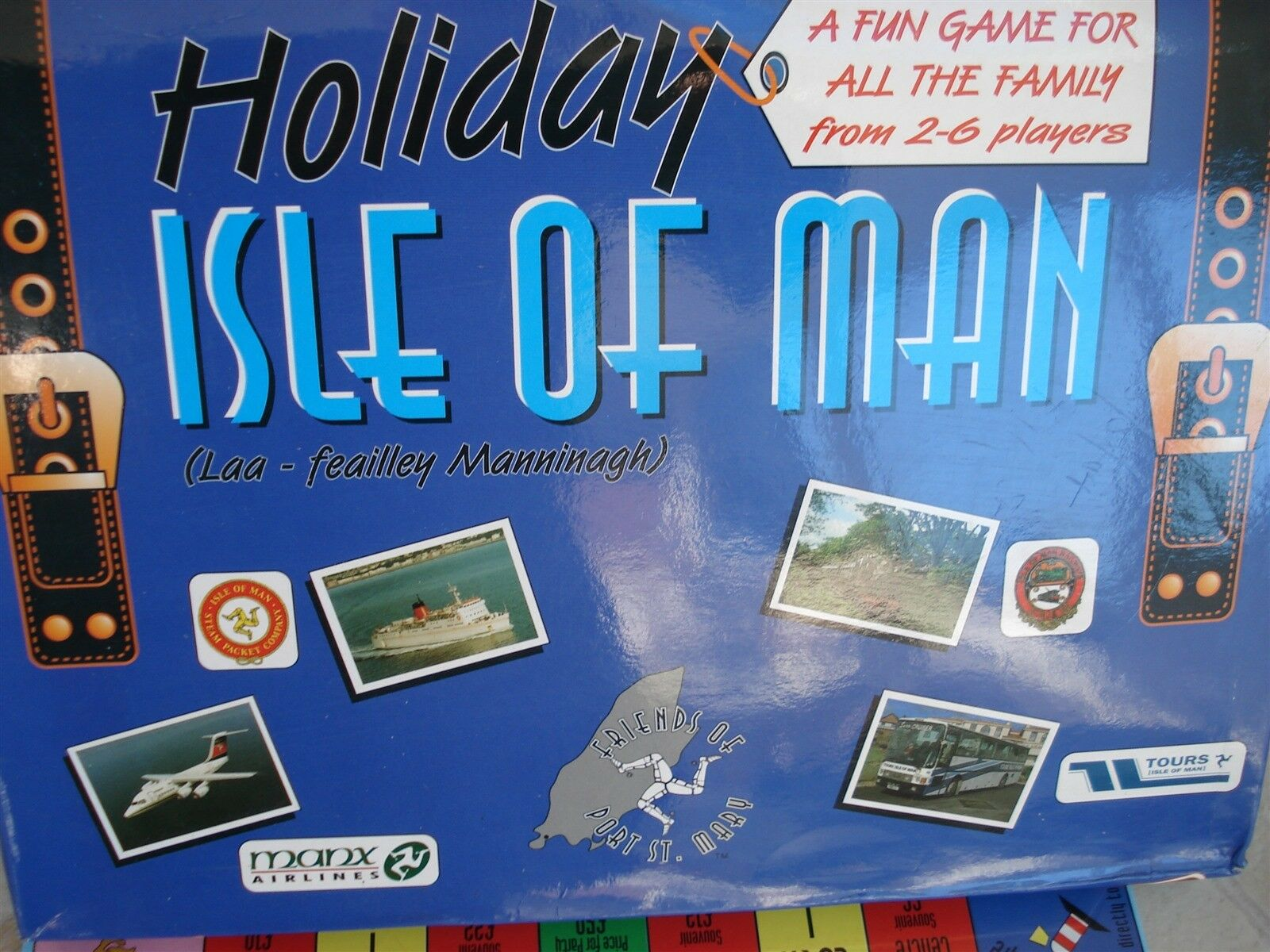 HOLIDAY ISLE OF MAN GAME - ISLE OF MAN GAME - 100% - 1996 - RARE - LOOKS GREAT